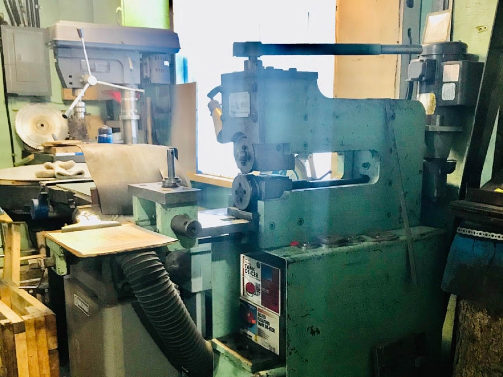 Wright Machine Tool Automatic Top and Face Grinder Model W 150 HDB