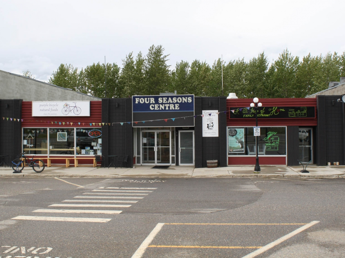 Mall with tenants and passive income is a business for sale in BC.