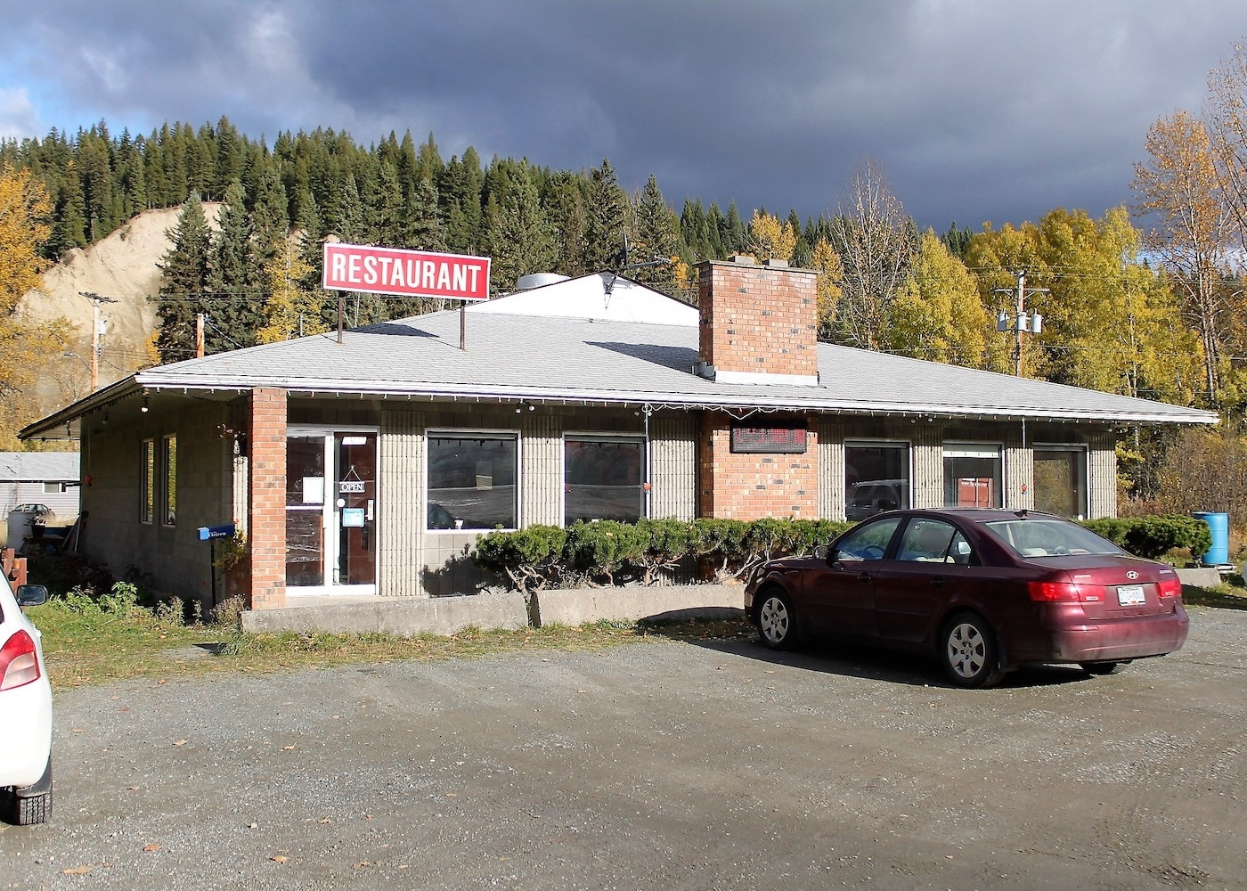 Commercial property for less than a house! is a business for sale in BC.