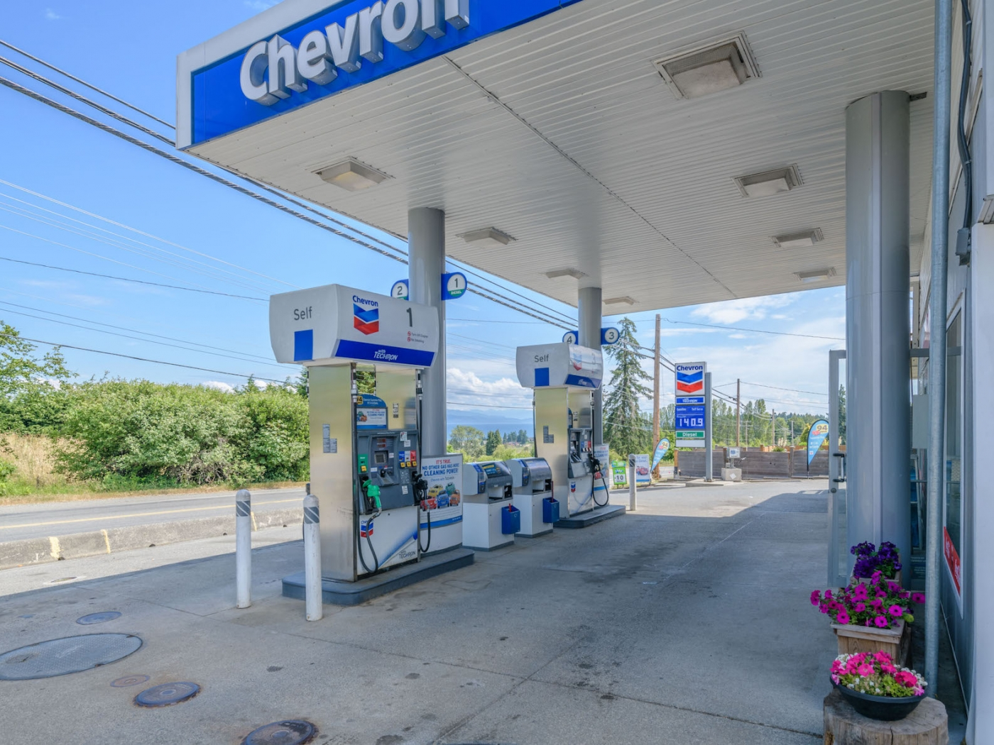 Chevron Station is a business for sale in BC.