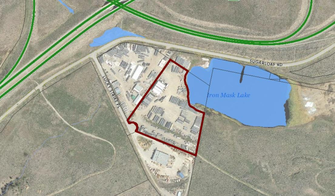 Rare opportunity to purchase more than 14 acres of flat, serviced industrial land! is a business for sale in BC.