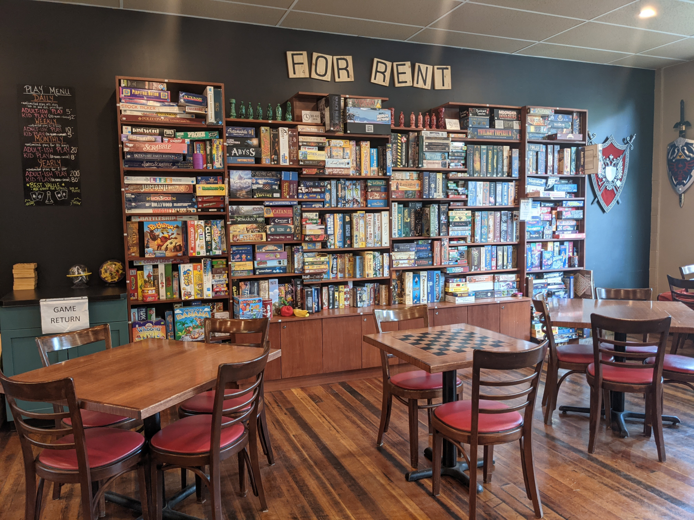 Board Game Cafe for Sale is a business for sale in BC.