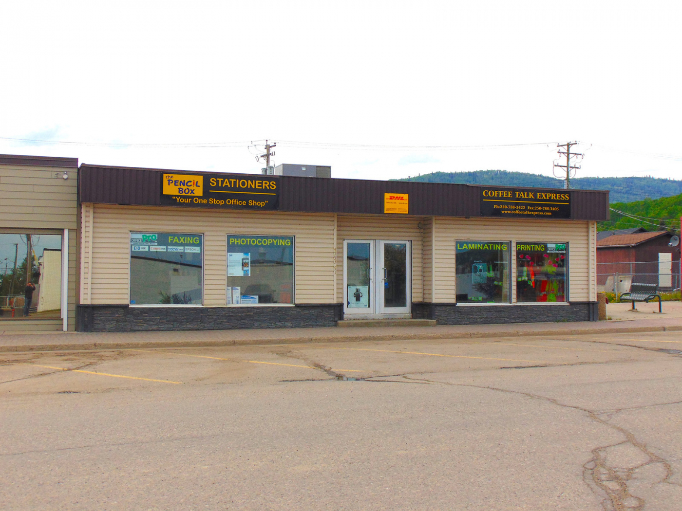 The Pencil Box is a business for sale in BC.