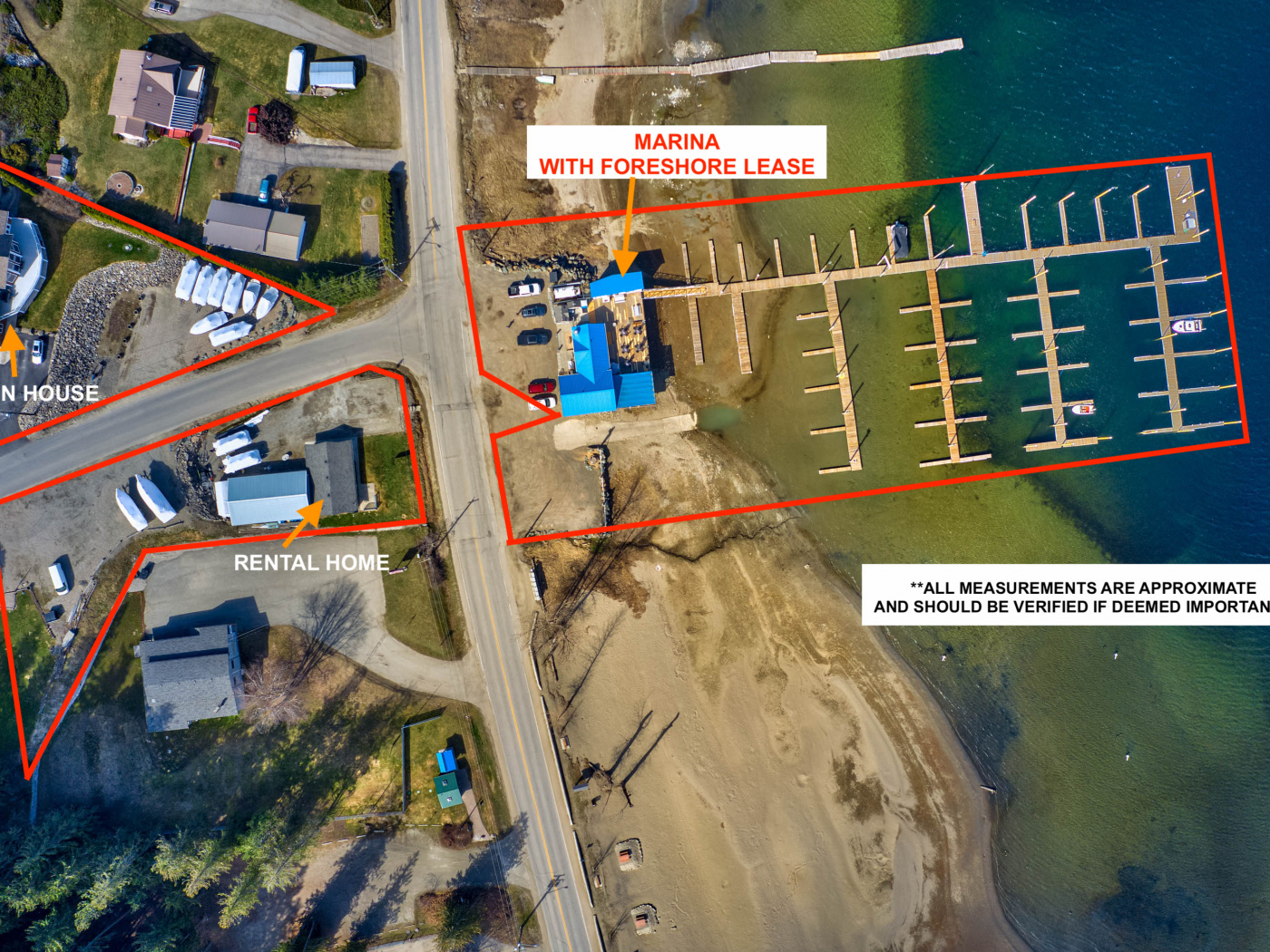 Bayside Marina & Restaurant is a business for sale in BC.