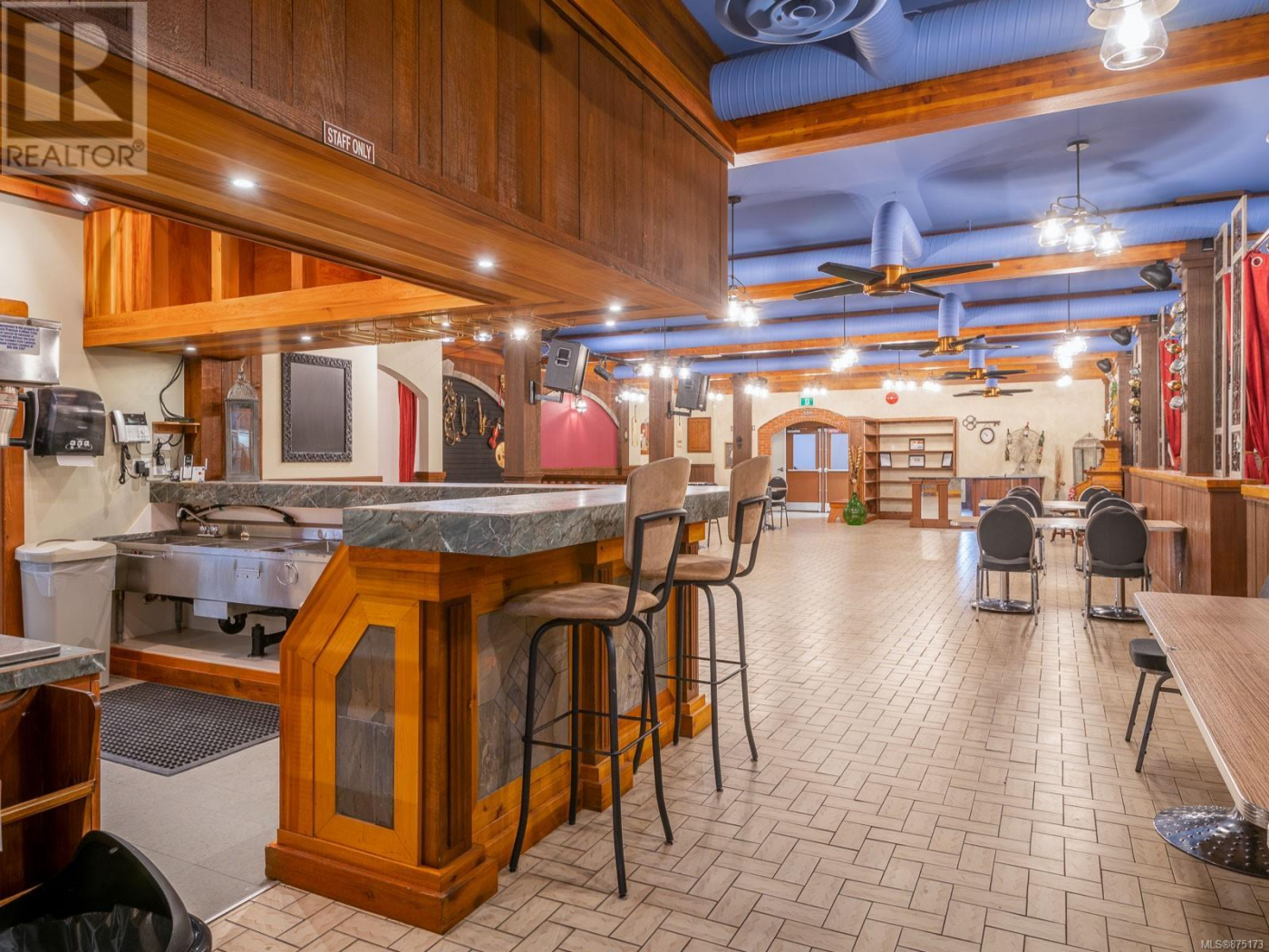 The Italian Hall Events Centre is a business for sale in BC.