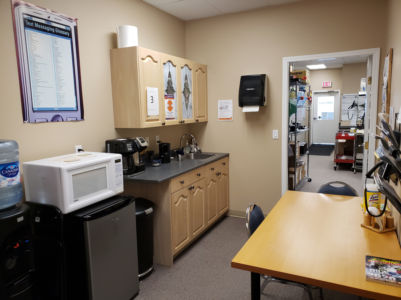Office building in excellent condition is a business for sale in BC.