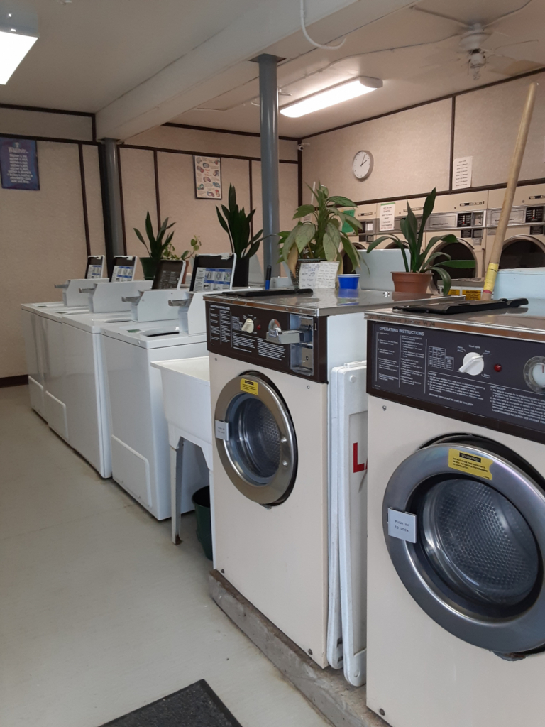 Laundromat is a business for sale in BC.