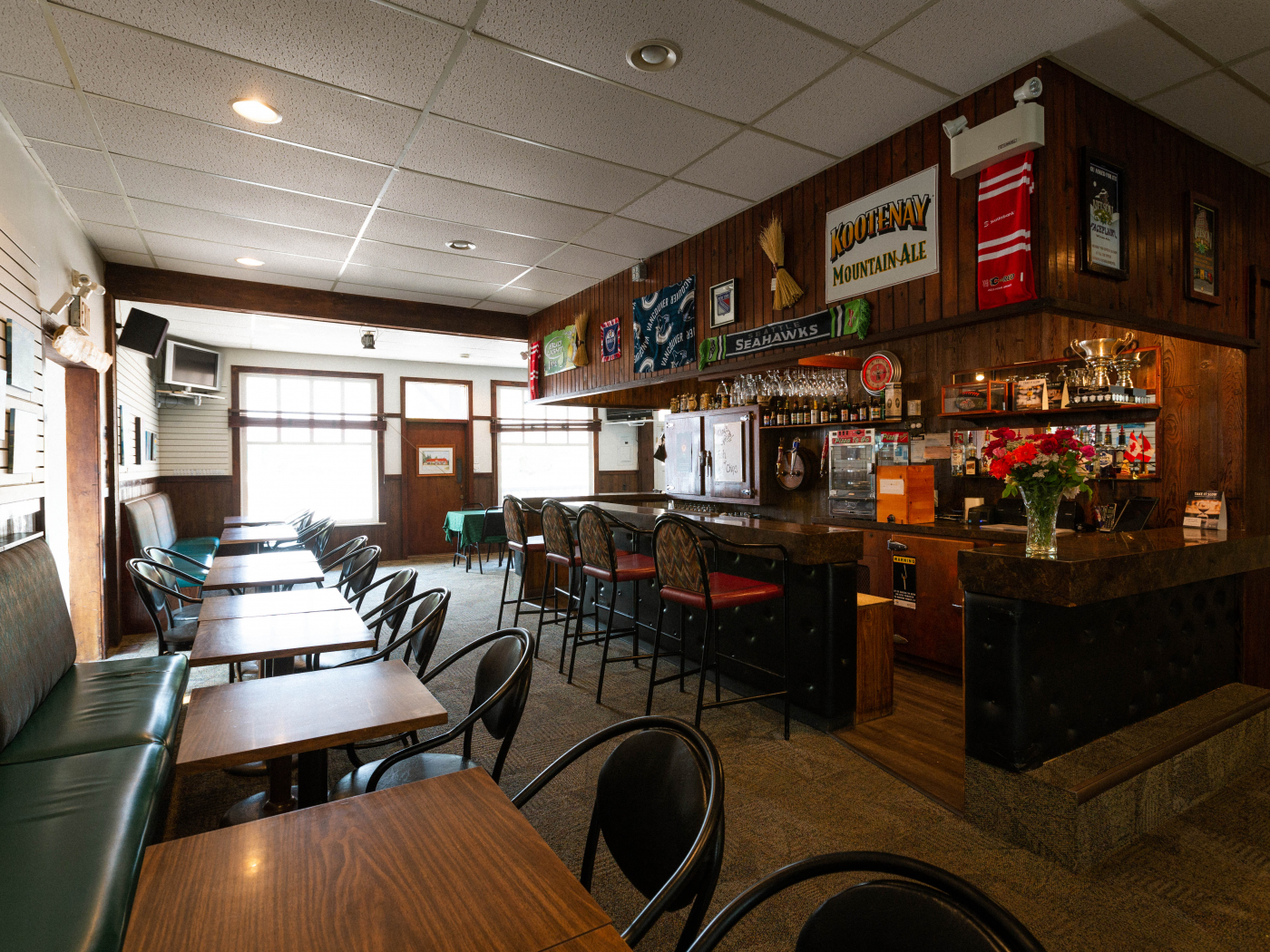 Beloved Pub & Restaurant with Residence is a business for sale in BC.