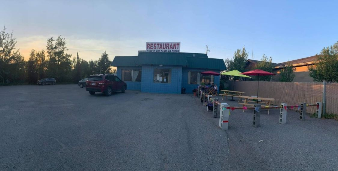 Restaurant with living quarter is a business for sale in BC.