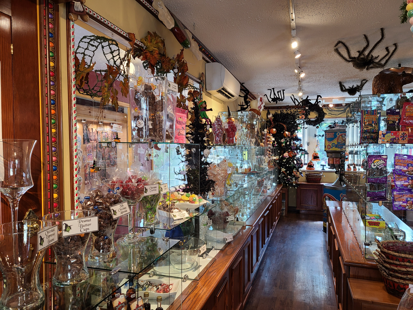 Hansel & Gretel's Candy Co. and Baby Bear's Ice Cream Shoppe is a business for sale in BC.
