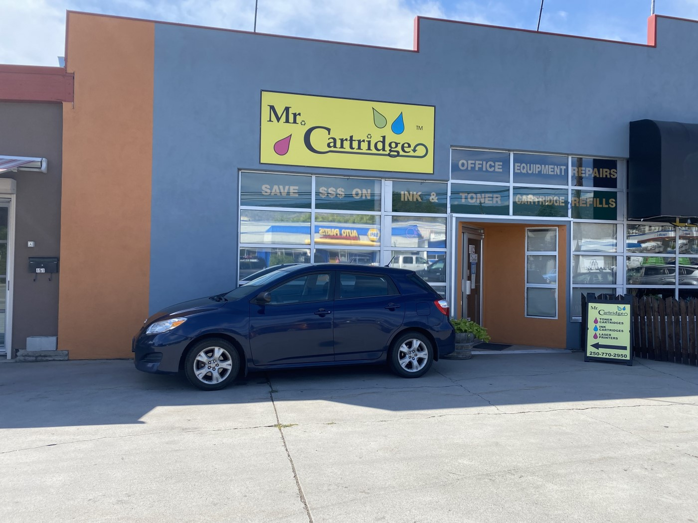 Mr. Cartridge is a business for sale in BC.
