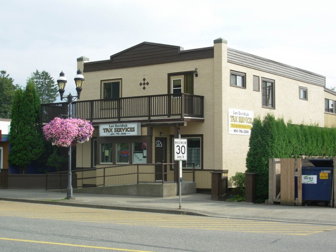 2 Story Commercial/Residential Building in Agassiz is a business for sale in BC.