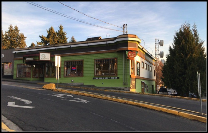 Commercial Building in Powell River is a business for sale in BC.